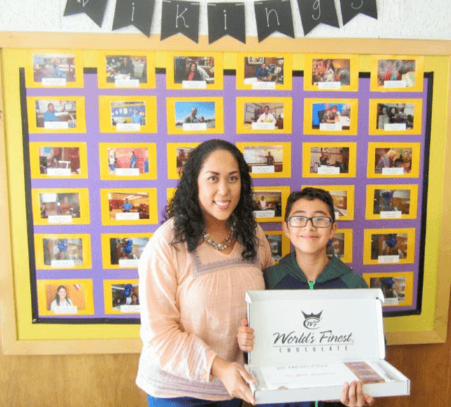 Congratulations to Isaac Agustin for winning the raffle during the World's  Finest Chocolate fundraiser!